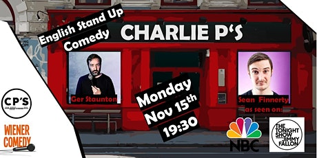 English Stand Up Comedy Night  with Sean Finnerty & Ger Staunton! tickets