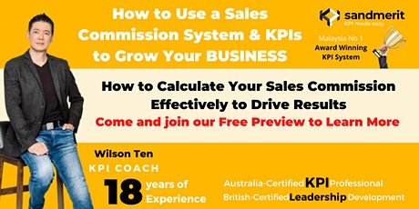 sandmerit KPI Sales Commission System Preview(28-Oct Thursday 8 PM - 9 PM) tickets