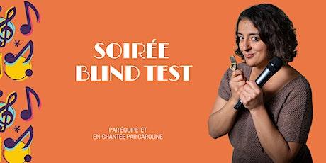 Blind Test à Caro billets
