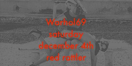 Warhol 69 tickets