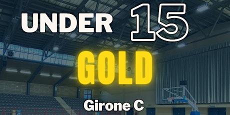 U/15 GOLD vs AZZURRI NIGUARDESE biglietti