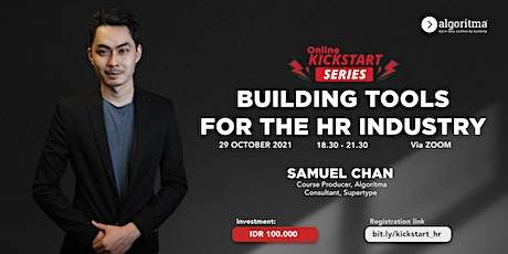 KICKSTART SERIES: BUILDING TOOLS FOR THE HR INDUSTRY tickets