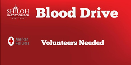 Blood Drive Volunteers tickets