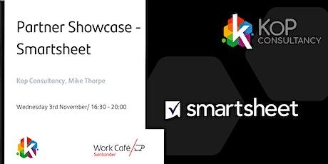 Partner Showcase - Smartsheet tickets