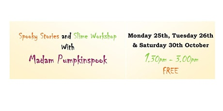Darlington Libraries - Spooky Stories and Slime Workshop tickets