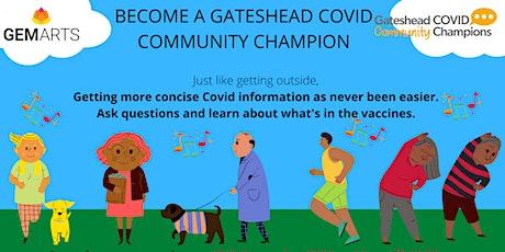 Gateshead Community Champions tickets