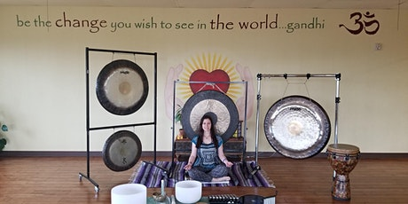 Gong Meditation - Sacred Sound Journey with Gongs + Bowls + more... tickets