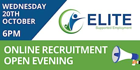ELITE Recruitment Open Evening tickets