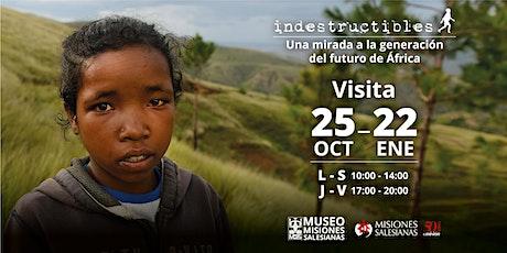 Exposición Indestructibles: una mirada a la generación del futuro de África entradas
