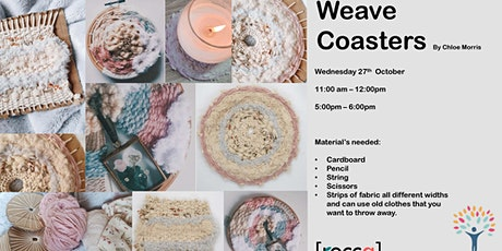 Weave Coasters tickets