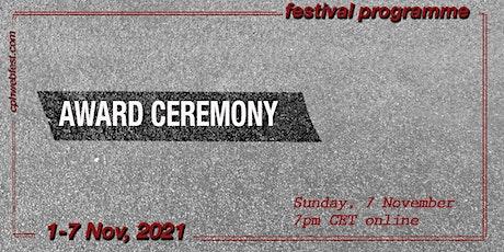 Award Ceremony tickets