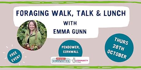 Foraging Walk, Talk & Lunch with Emma Gunn in Cornwall tickets