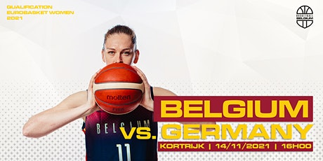 FIBA Women's EuroBasket 2023 Qualifiers: Belgian Cats vs. Germany billets