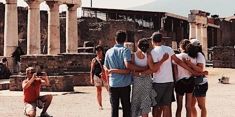 Tour guidato di Pompei Semi-Privato + Biglietto Salta Fila Incluso biglietti