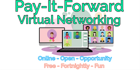 Pay-It-Forward Virtual Networking Lunch 2021-11-09 tickets