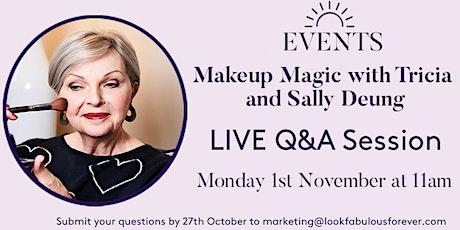 Makeup Magic Mondays with Tricia & Sally Deung tickets