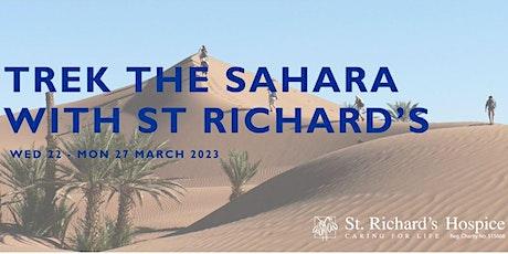 Information Evening - Trek the Sahara with St Richard's tickets
