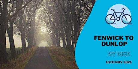 Fenwick to Dunlop by bike tickets