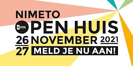 Nimeto Open Huis tickets