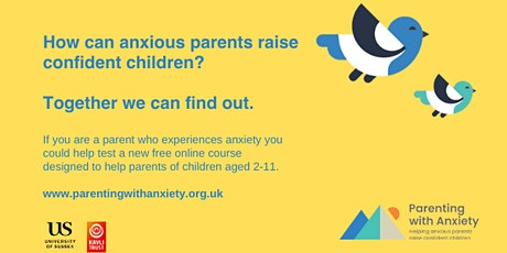 Parenting with anxiety tickets