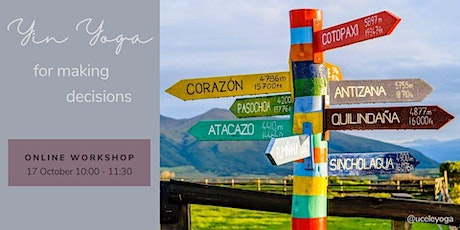 YIN YOGA for making decisions | Online workshop Tickets