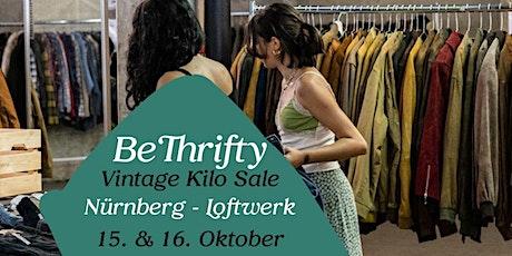 BeThrifty Vintage Pop Up Store   Nürnberg   15. & 16. Oktober Tickets