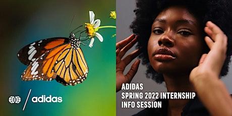 adidas Spring 2022 Internship Info Session tickets
