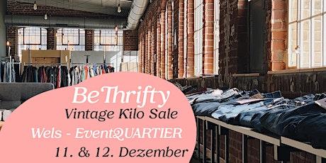 BeThrifty Vintage Kilo Sale | Wels | 11. & 12. Dezember Tickets