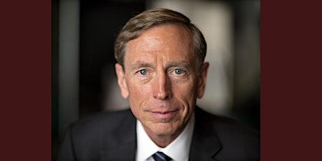 General David Petraeus on the future of geopolitics, post-Pandemic tickets