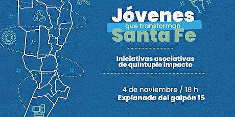 Jóvenes Que Transforman Santa Fe 2021 - Rosario entradas