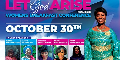 RCCG HOTLS PRESENTS: Womens Breakfast Conference tickets