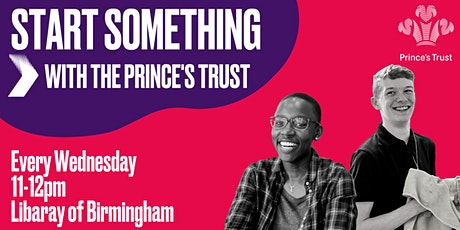 Prince's Trust Youth Hub Information Session tickets