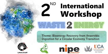 2nd International Workshop Waste 2 Energy tickets