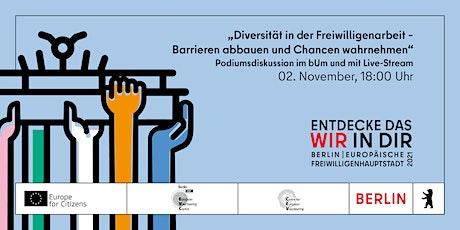 Diversität in der Freiwilligenarbeit: Barrieren abbauen & Chancen ergreifen Tickets