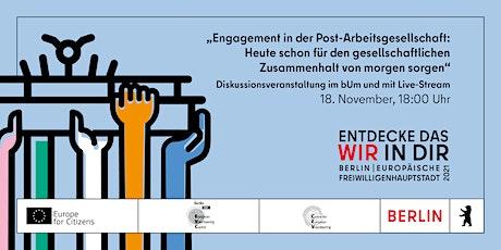 Engagement in der Post-Arbeitsgesellschaft tickets