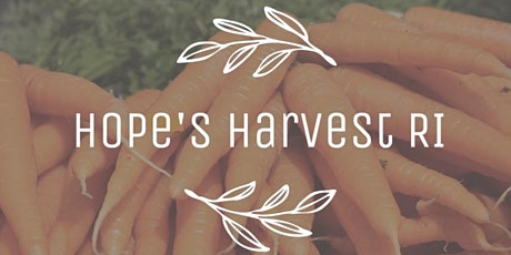Gleaning with Hope's Harvest RI Tuesday, Oct 19th 10AM - 12PM tickets