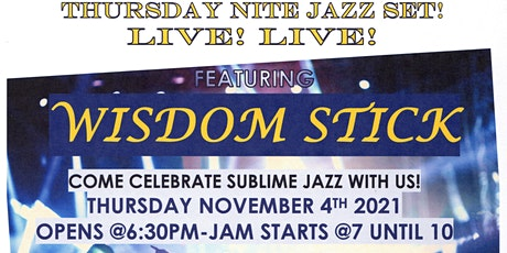 Thursday Jazz Night Out tickets