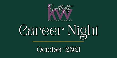 October 2021 Career Night - P2 tickets