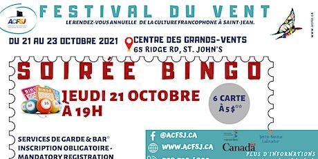 Festival du vent 2021 -Soirée bingo tickets