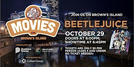 Movies on the Island - Beetlejuice tickets