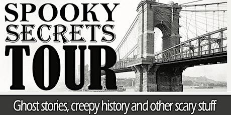 Spooky Secrets Walking Tour tickets