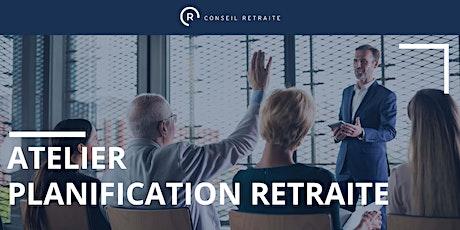 Atelier planification retraite tickets