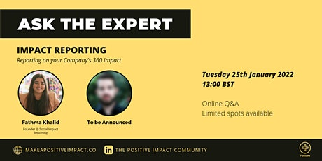 Impact Reporting: Reporting on your company's 360 Impact tickets