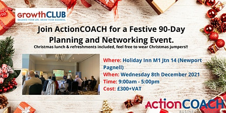 GrowthCLUB - December - 90-Day Business Planning Workshop tickets