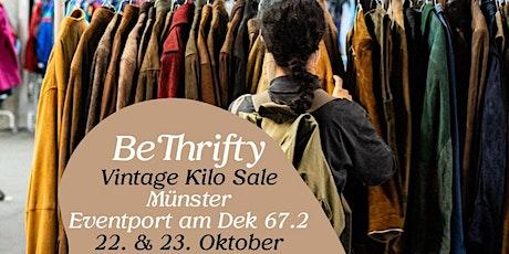 BeThrifty Vintage Pop Up Store | Münster | 22. & 23. Oktober billets