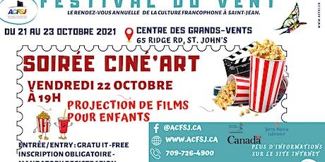 Festival du vent 2021 -  Children's film screenings tickets