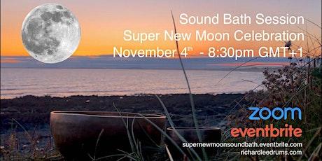 Super New Moon Sound Bath tickets