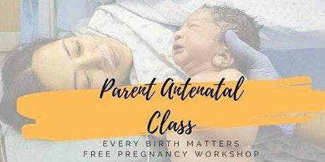 FREE Antenatal Education Workshop for Expectant Parents. tickets