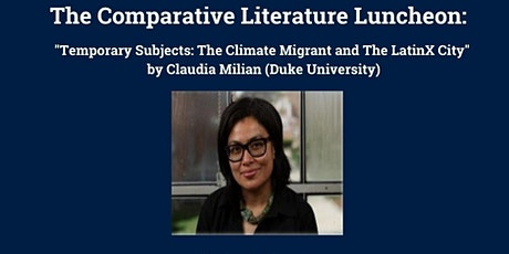 The Comparative Literature Luncheon Series tickets