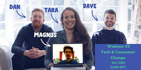 The Beagle Button  Webinar #5 - How Tech For Good Drives Consumer Change tickets